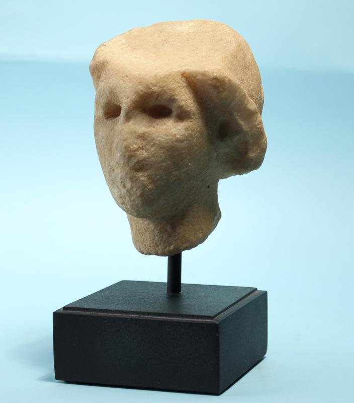 Greek Marble Head of Aphrodite Anadyomene