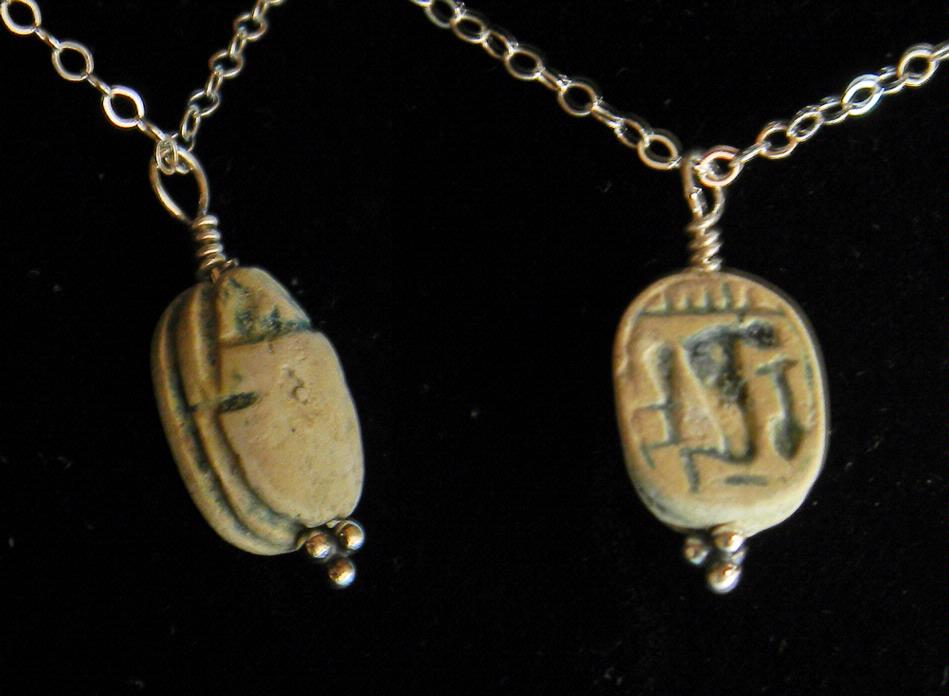 egyptian scarab necklace - photo #8