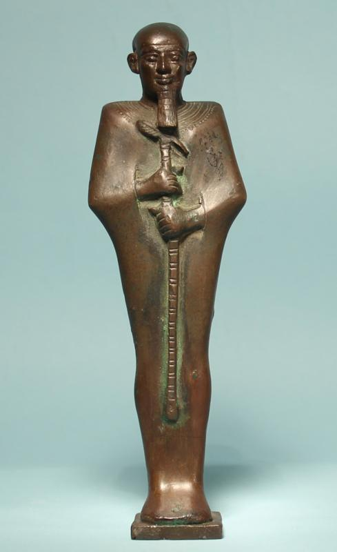 Egyptian Bronze Statuette of Ptah