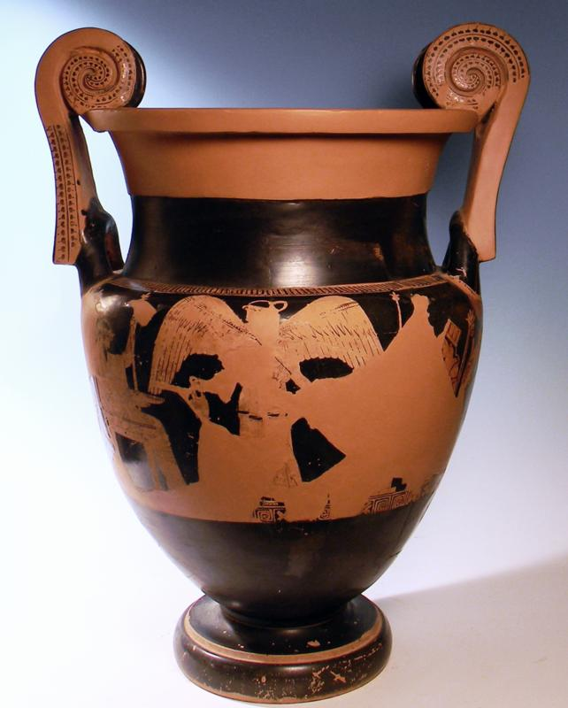 Attic Red-Figure Volute Krater by the Niobid Painter