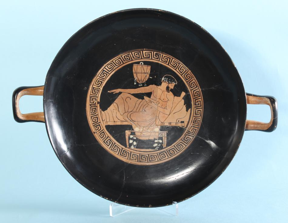 Attic Red-Figure Kylix: Dionysos