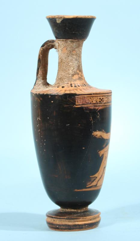 Attic Greek Red-Figure Lekythos