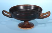 Attic Greek Black Glazed Kylix