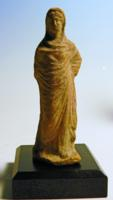 Greek Terracotta Woman of Fashion