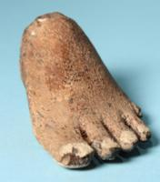 Egyptian Wood Foot