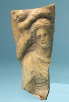 Roman Bone Carving of Aphrodite
