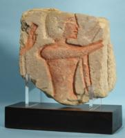 Egyptian Amarna Sandstone Relief of a Servant
