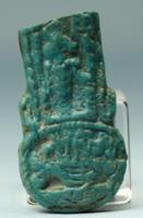Egyptian Faience Menat Counterpoise