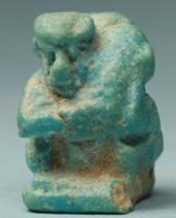 Egyptian Faience Erotic Amulet