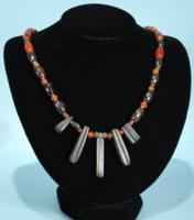 Babylonian Hematite Bead Necklace