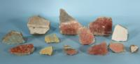 Collection of Roman Wall Painting Fragments