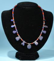Bactrian Lapis and Carnelian Necklace
