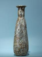 Roman Marble Glass Flask