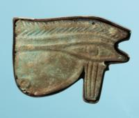 Egyptian Faience Wedjat Eye Amulet