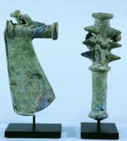 Luristan Bronze Mace and Axe