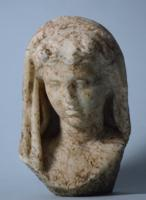 Roman Marble Bust of a Woman