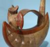 Lambayeque Whistling Vessel with a Bat