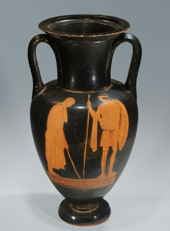 Attic Red-Figure Nolan Amphora: Ethiop Painter