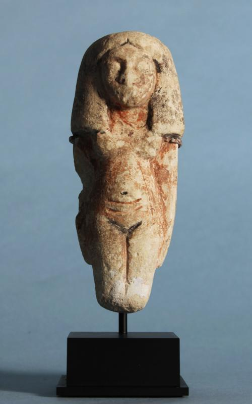 Egyptian Limestone Fertility Figure