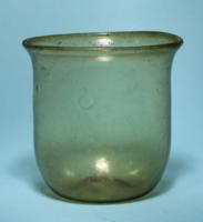 Roman Yellow Glass Cup