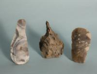 Five Danish Neolithic Flint Tools