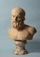 Roman Marble Bust of a Philosopher