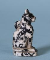Egyptian Diorite Amulet of a Cat
